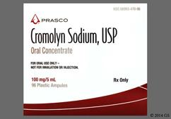 colorless - Cromolyn Sodium 100mg/5mL Solution