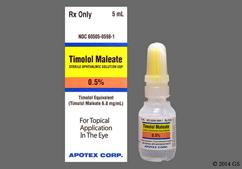 colorless - Timolol Maleate 0.5% Ophthalmic Solution