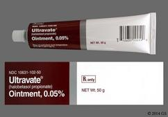 Ultravate Coupon - Ultravate 50g of 0.05% tube of ointment