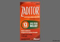 Zaditor Coupon - Zaditor 5ml of 0.025% eye dropper