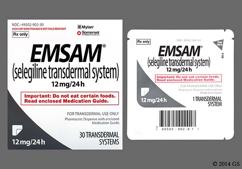 Emsam Coupon - Emsam 30 patches of 12mg/24h carton