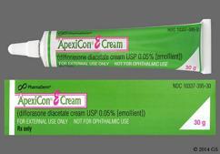 Apexicon E Coupon - Apexicon E 30g of 0.05% tube of cream