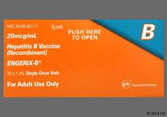 Engerix-B Coupon - Engerix-B 20mcg/ml of adult dose vial