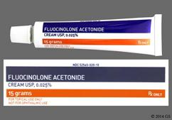 white - Fluocinolone Acetonide 0.025% Topical Cream