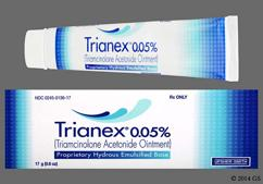 Trianex Coupon - Trianex 17g of 0.05% tube of ointment