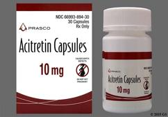 Brown And White Capsule A-10 Mg - Acitretin 10mg Capsule