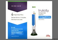 Dulaglutide Coupon - Dulaglutide 4 pens of 1.5mg/0.5ml carton