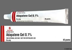 Differin Coupon - Differin 45g of 0.1% tube of cream