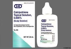 colorless - Calcipotriene 0.005% Topical Scalp Solution