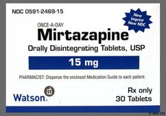 White Round Orally Disintegrating Tab 2230 And Wpi - Mirtazapine 15mg Orally Disintegrating Tablet