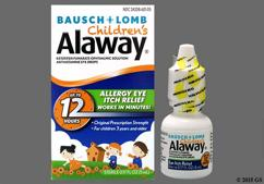 Alaway Coupon - Alaway 5ml of 0.025% eye dropper
