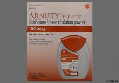 white - ARNUITY ELLIPTA 100mcg/actuation Powder for Inhalation