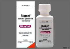 colorless - Riomet 500mg/5ml Solution