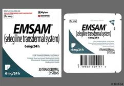 Emsam Coupon - Emsam 30 patches of 6mg/24h carton