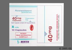 Brown Capsule I 40 - Amnesteem 40mg Capsule