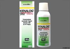 Kenalog Coupon - Kenalog 100g of 0.147mg/g bottle of spray