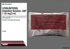 Levalbuterol Coupon - Levalbuterol 3ml of 1.25mg/3ml vial