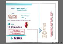 Beige And Red-Brown Capsule I 20 - Amnesteem 20mg Capsule