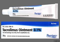white - Tacrolimus 0.1% Topical Ointment