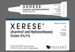 Xerese Coupon - Xerese 5g of 5%/1% tube of cream