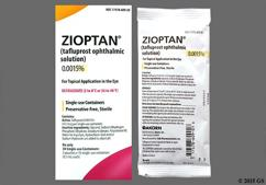 yellow - ZIOPTAN 0.0015% Ophthalmic Solution