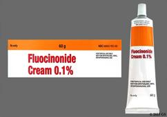 white - Fluocinonide 0.1% Topical Cream