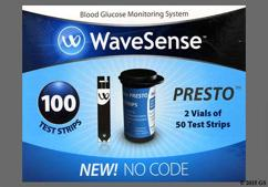 Wavesense Coupon - Wavesense Presto test strip