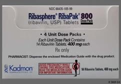 Blue Oblong Dose Pack 3Rp And 400 - RibaPak 800mg/day Compliance Pack Tablet