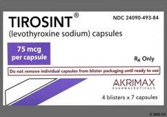 Tirosint Coupon - Tirosint 75mcg capsule