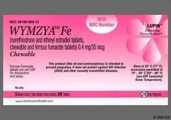 Brown Round Package Wc And 624 - WYMZYA Fe Chewable Tablet