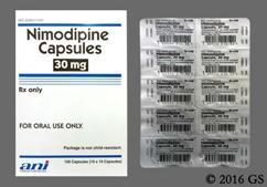 White Capsule Ani 210 - Nimodipine 30mg Capsule