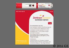 Zembrace Coupon - Zembrace 4 autoinjectors of 3mg/0.5ml carton