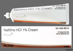 white - Naftifine Hydrochloride 1% Topical Cream
