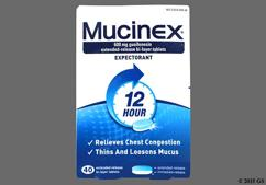 Blue And White Oval Tablet A, Mucinex, And 600 - Mucinex 600mg Extended-Release Tablet