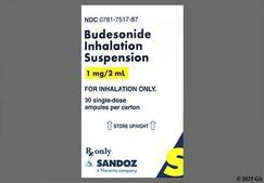 Budesonide Coupon - Budesonide 1mg/2ml ampule
