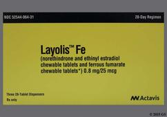 Brown Round Package Wc And 624 - Layolis Fe Chewable Tablet