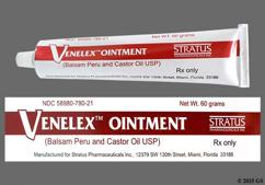Venelex Coupon - Venelex 60g of 87mg/788mg tube of ointment