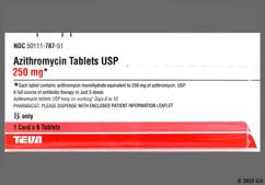 Azithromycin Coupon - Azithromycin 6 tablets of 250mg z-pak