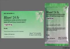 Blisovi 24 FE Coupon - Blisovi 24 FE 28 tablets of 1mg/20mcg package