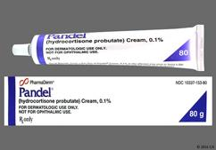 Pandel Coupon - Pandel 80g of 0.1% tube of cream