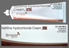 white - Naftifine Hydrochloride 2% Topical Cream