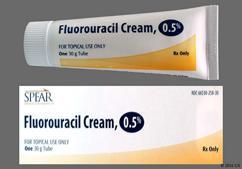 Fluorouracil Coupon - Fluorouracil 30g of 0.5% tube of cream