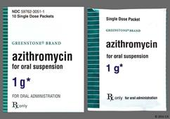 Azithromycin Coupon - Azithromycin 1g packet
