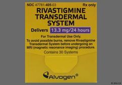 Tan Round Carton Rivastigmine 13.3 Mg/24 Hr - Rivastigmine 13.3mg/24hr Transdermal Patch