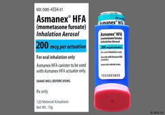 Asmanex HFA Coupon - Asmanex HFA 120 doses of 200mcg inhaler