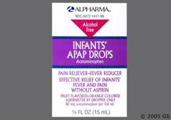 Infants Acetaminophen Coupon - Infants Acetaminophen 80mg/0.8ml dropper