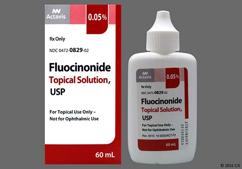 white - Fluocinonide 0.05% Topical Solution