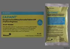 Caziant Coupon - Caziant 28 tablets package