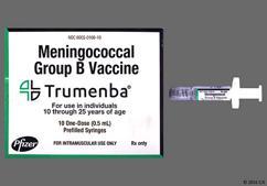Trumenba Coupon - Trumenba 0.5ml syringe