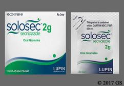 Solosec Coupon - Solosec 2g packet